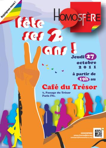 Invitation 2 ans HomoSFèRe
