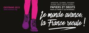 HomoSFèRe soutient l'EXISTRANS et appelle à manifester le 17/10