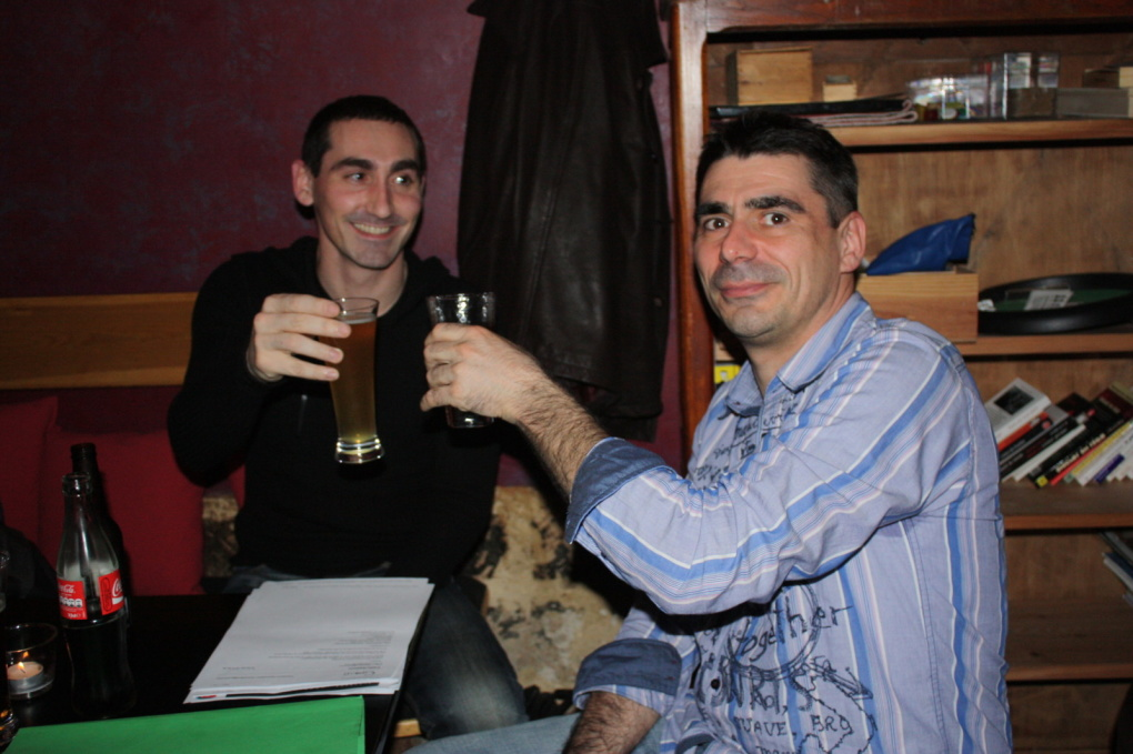 Le jeudi 25 février 2010, les adhérents de Homosfère se sont réunis pour l'apéritif de bienvenue à La Vénus Noire.